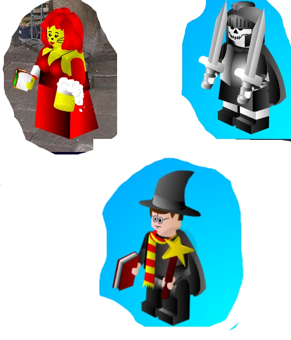 Make your own Lego character!