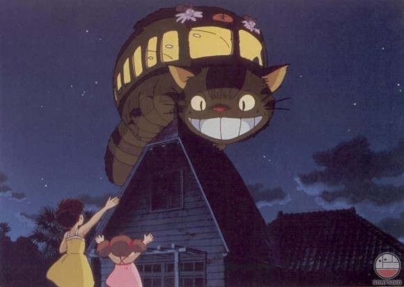 Would you lyke to ride the Cat Bus?