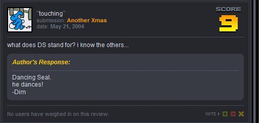 Replies from a newgrounds star