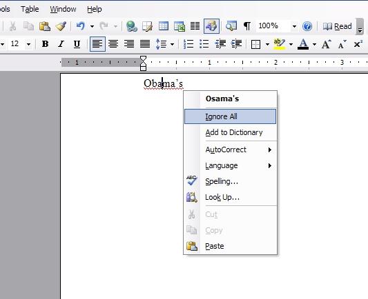 Microsoft Word- Racist?!!