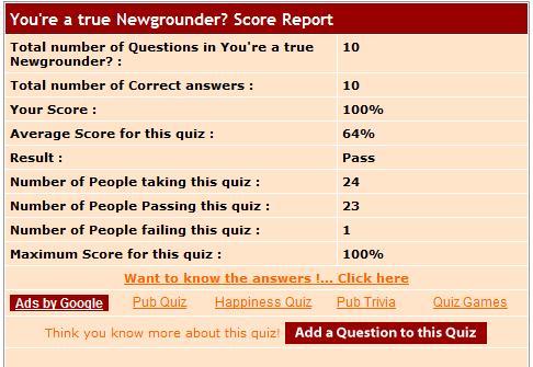 You're a true Newgrounds?