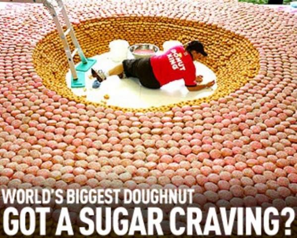 Worlds biggest Donut