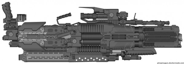 Customizable gun!