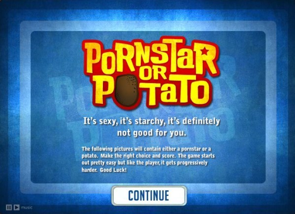 Pornstar Or Potato?