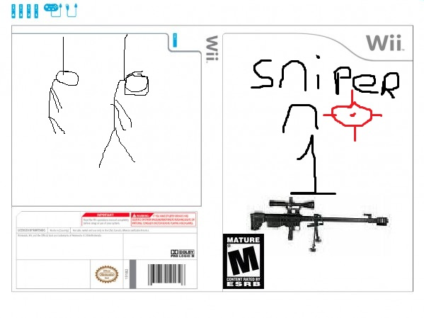 Make a Wii Game Cover