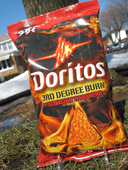 3rd Degree Burn...Doritos!?!