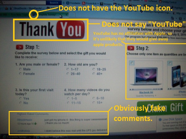 YouTube Survey Legit ?