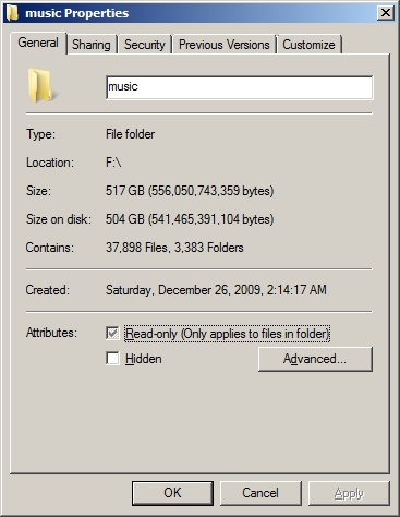 How many songs are on your computer
