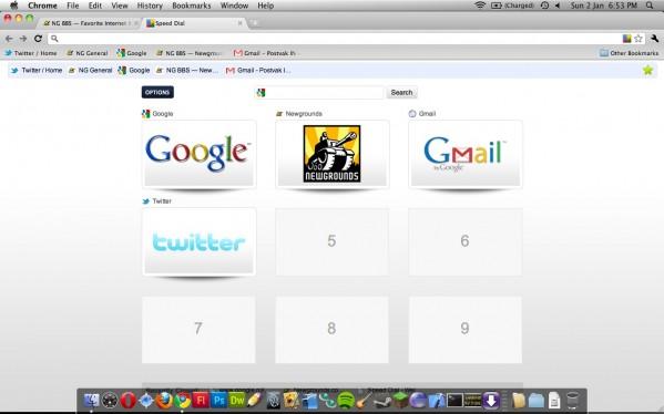Favorite Internet Browser