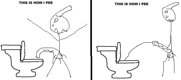 how do you pee?