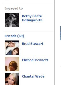 How many friends on Facebook?