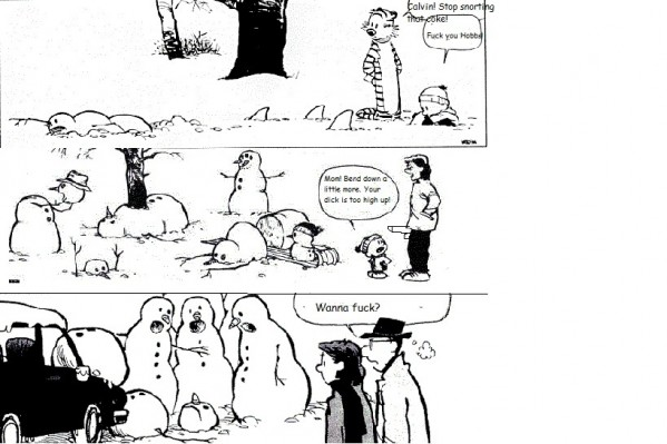Calvin & Hobbes Photoshop!