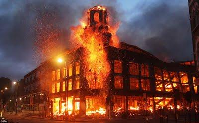 London Riots 08/08/2011