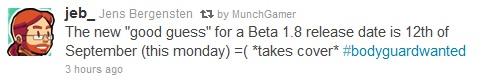 Minecraft 1.8 Leaked