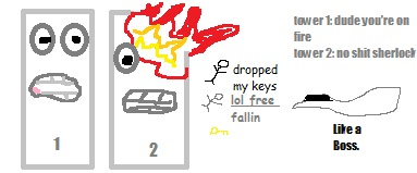 MS Paint offensive things.