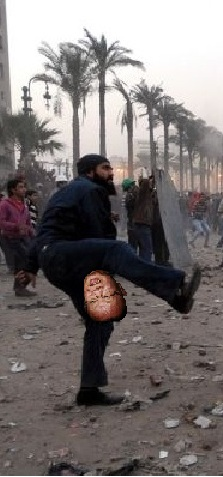 Photoshop this riot guy