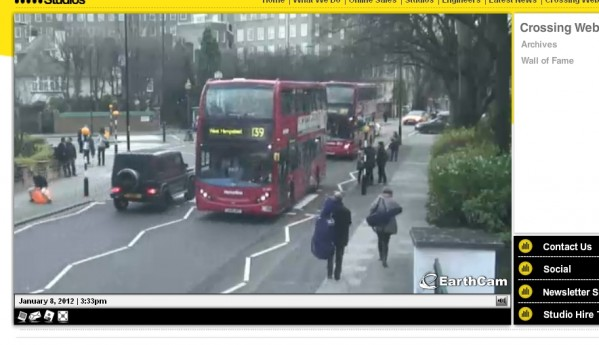 Abbey Road Web Cam