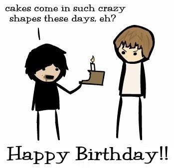 Happy Birthday, Narcissy!
