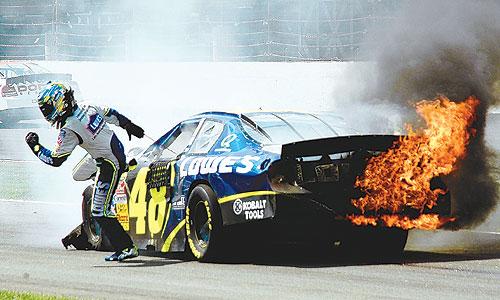 stock car racing=pointless sport