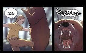 if a bear stole your sandwich