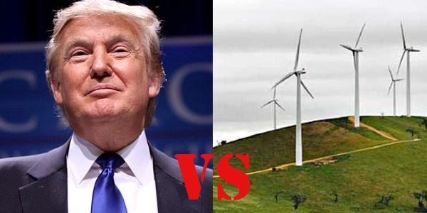 Trump vs the Wind Farm