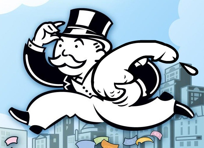 Photoshop Mr.Moneybags ( Monopoly)