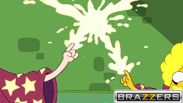 Brazzers logo on innocent picture