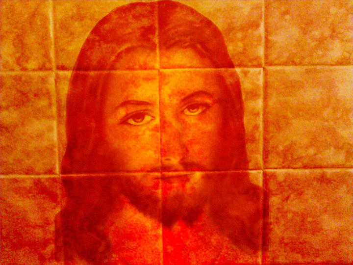 Freaky: Jesus Appears On My Wall.