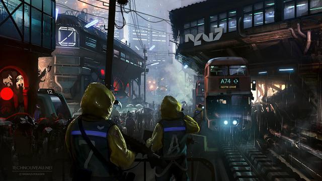 Cyberpunk vs. Steampunk