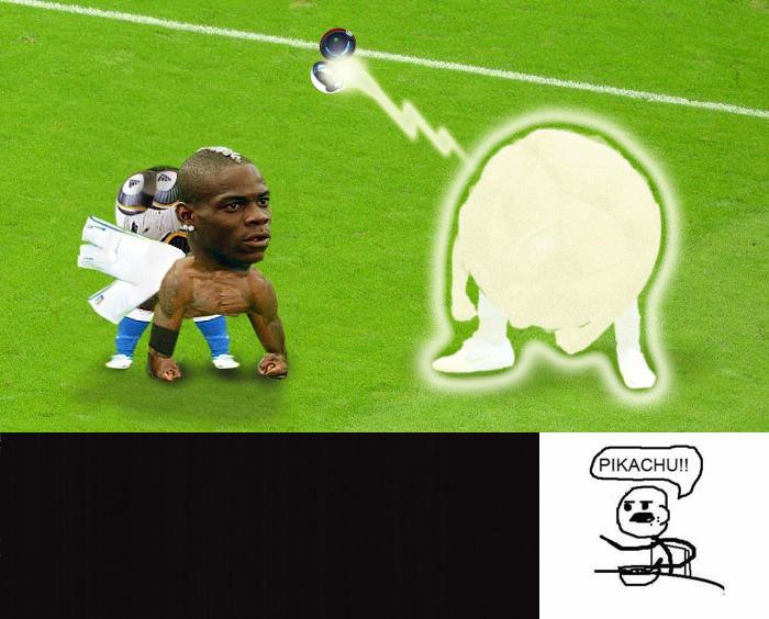 Photoshop Mario Balotelli