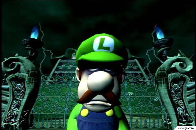 Depressed Luigi Pic.