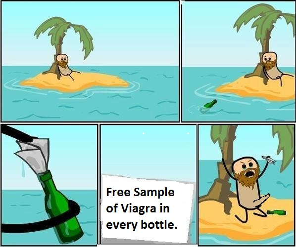 Photoshop Note in a Bottle