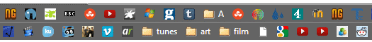 What are your browser bookmarks?