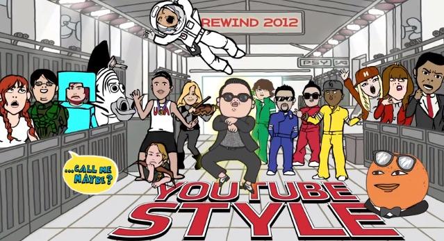 Rewind Youtube 2012
