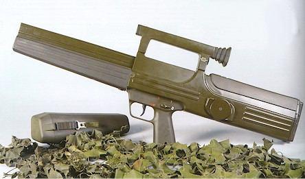 weird looking gun