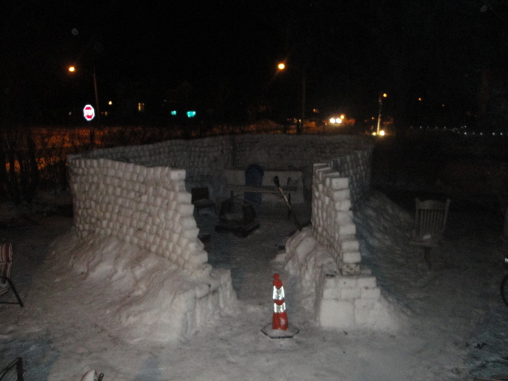 Our Snow Fort Needs To Be Named!