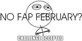 No fap February