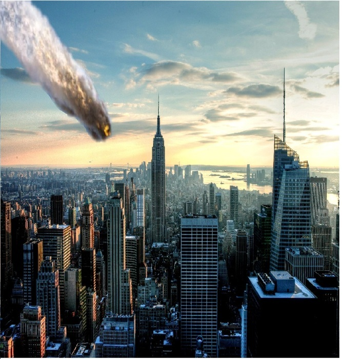 Meteorite explosion over Russia