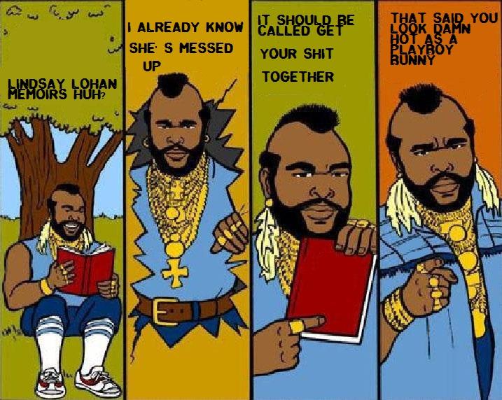 Caption Mr.T comic.