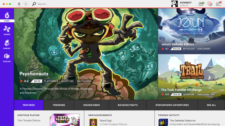 Kongregate Launches Game Store