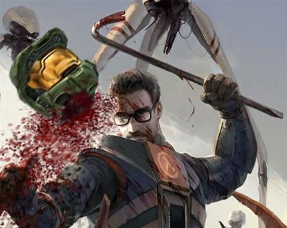 Halo vs Half-life