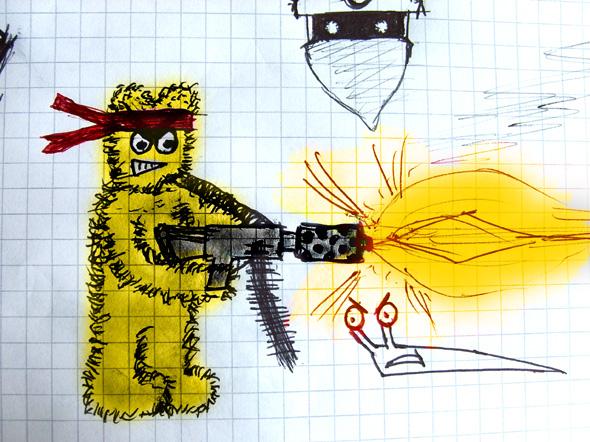 Design a weapon!