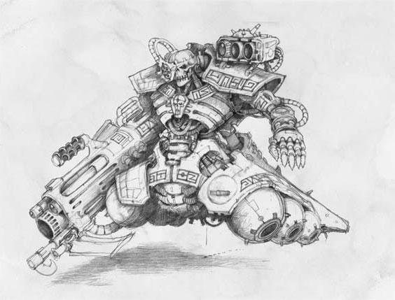 Warhammer 40,000 art gallery