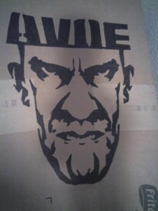 Stencil Graffiti Art
