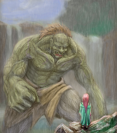 The Ogre And The Water Spirit