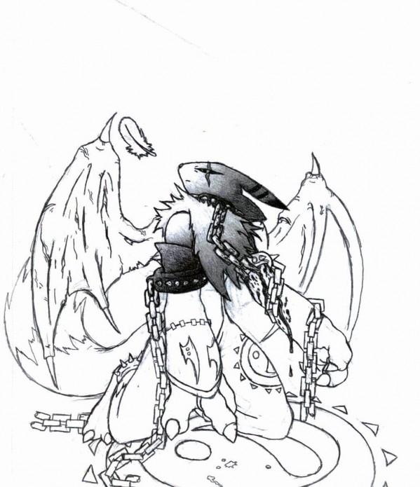 ScorpianX0's new art!