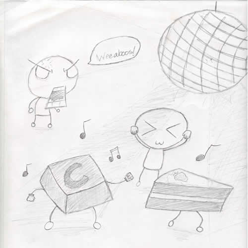 Draw that song!