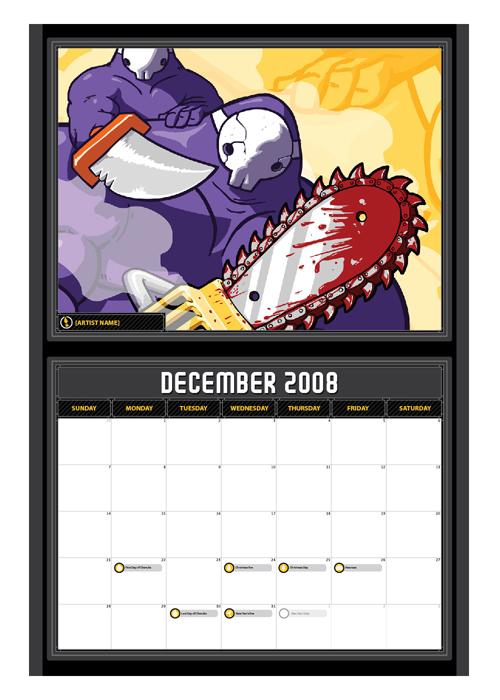 [art] Ng Print Calendar '09