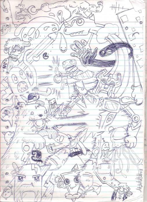 My Sketchbook Thread!