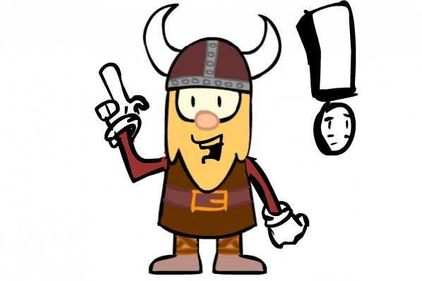 It's a Viking!
